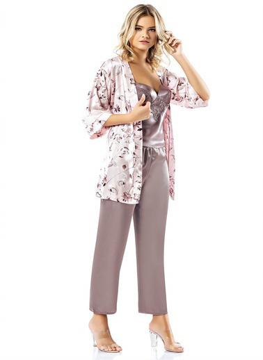 Loriva Pijama Takım Lila